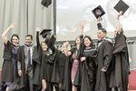 Business Graduates photographed at the Royal Hospital Kilmainham Graduation 2017